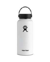 Hydro Flask 1 Liter WHITE