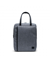 Travel Tote Raven Crosshatch