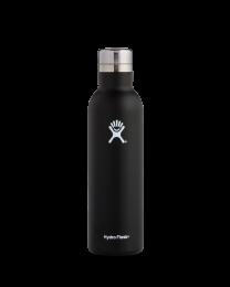 Hydro Flask Weinflasche SCHWARZ 0,75 Liter